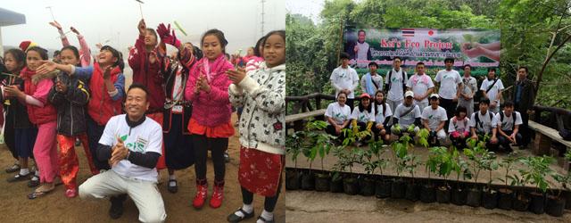 小学校3校で果樹を植樹