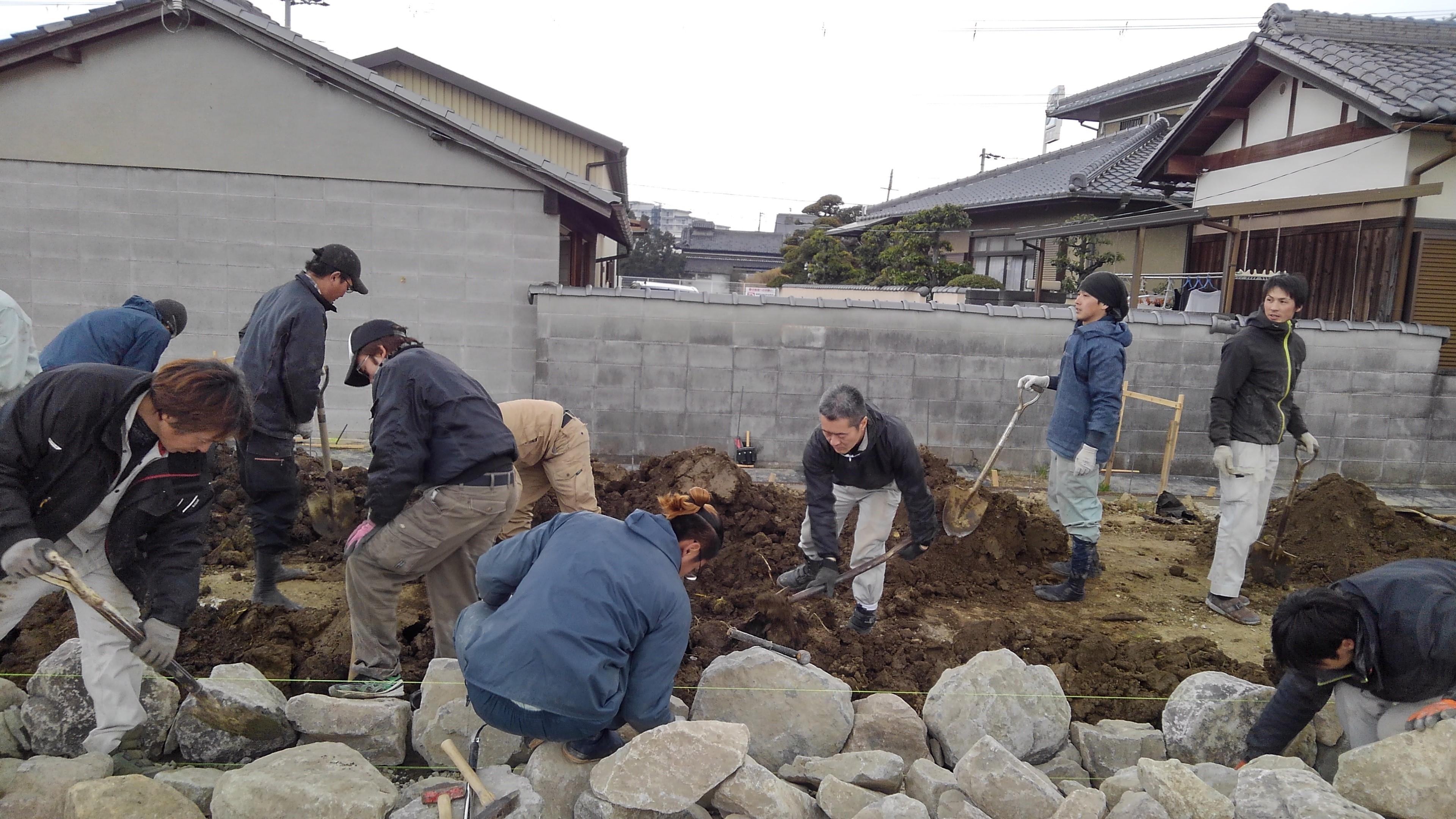 石積み講習