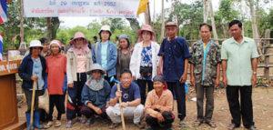 タイで植樹活動開始