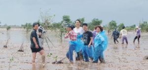 ベトナムで植樹活動開始